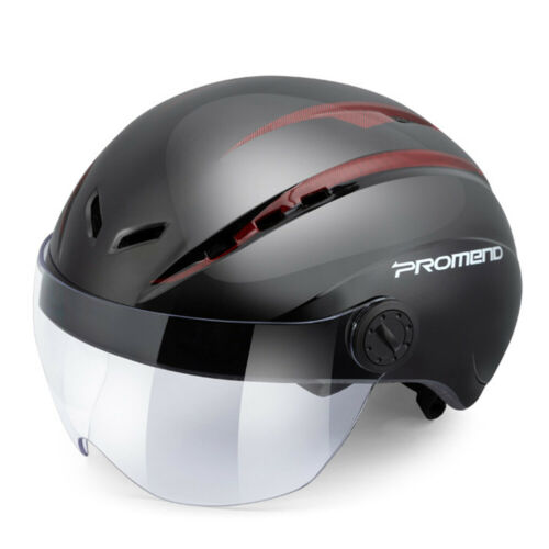 Light Road Mountain Bike Bicycle Cycling MTB Safety Helmet With Goggles