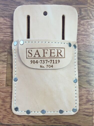 Carpet and Flooring Installer In-Pocket Leather Tool Pouch 704
