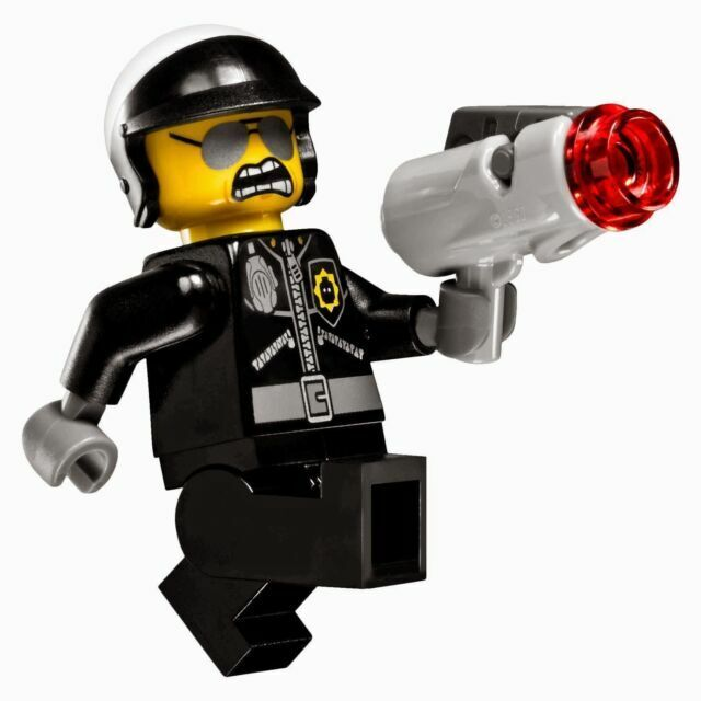 Lego Movie Good Bad Cop Minifig Minifigure Figure 70802 Police 2 Sided Face For Sale Online Ebay
