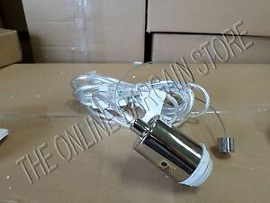 Details About Pottery Barn West Elm 3 Wire Light Pendant Shade Cord Set Kit Plug In 15