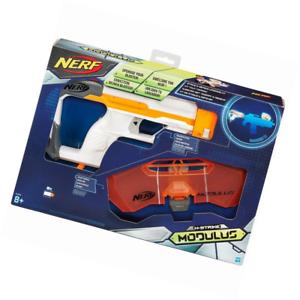 Image is loading Hasbro-NERF-Modulus-Strike-and-Defend-Upgrade-Kit