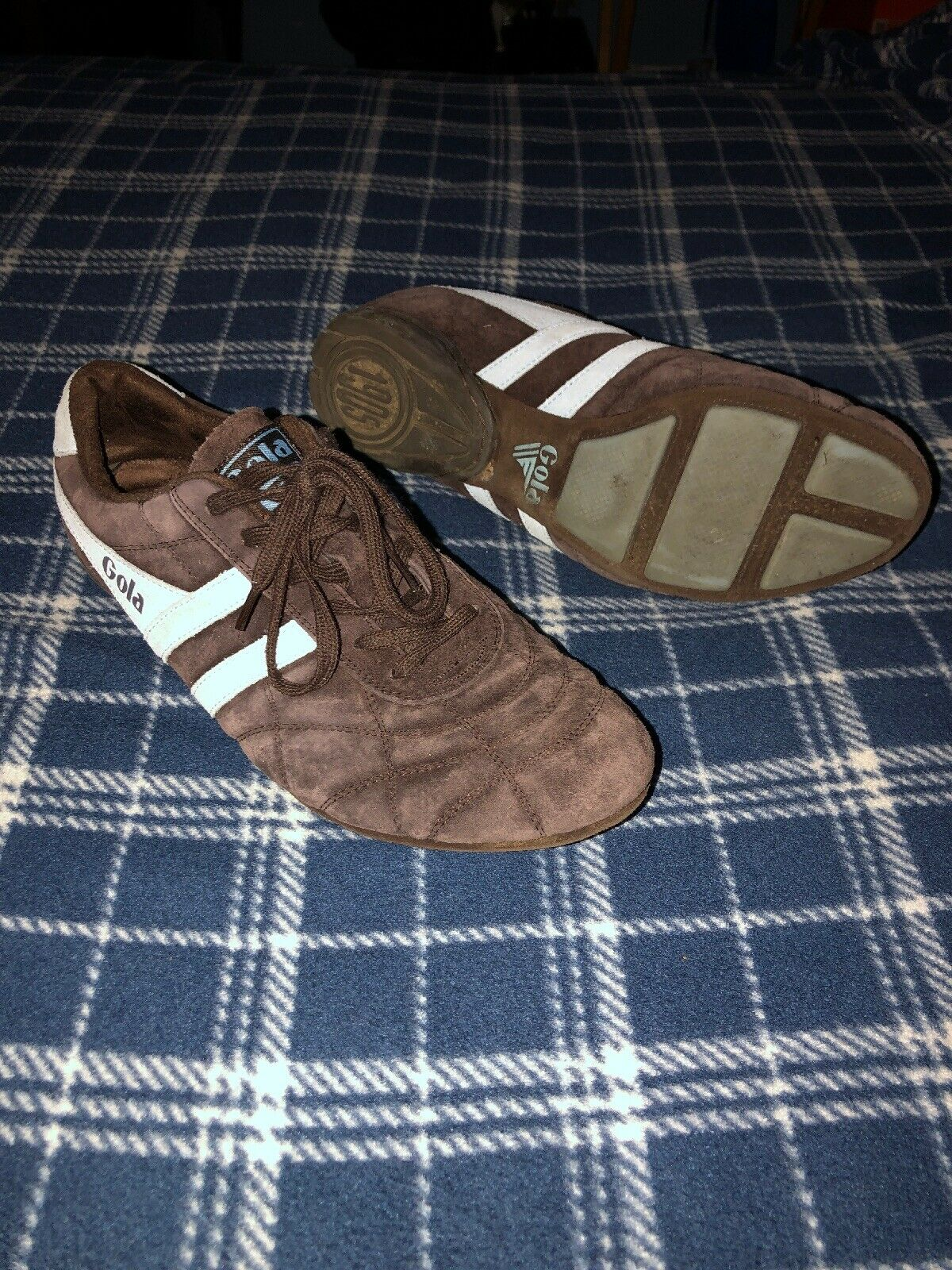 Gola Mens Leather shoes USED - Size 10