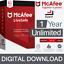 McAfee-Livesafe-2019-Internet-Antivirus-Pc-mac-1-ano-dispositivos-ilimitados miniatura 1