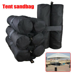 Awnings & Canopies Outdoor Canopy Tent Sand Bag Shelter Weighted Feet Legs Bag Fixed Sandbags
