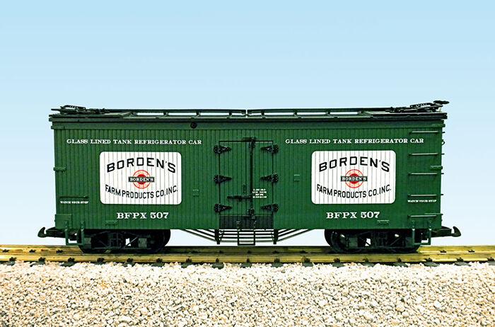 USA Trains G Scale R16020A-D Borden's Milk CHOICE   NEW RELEASE