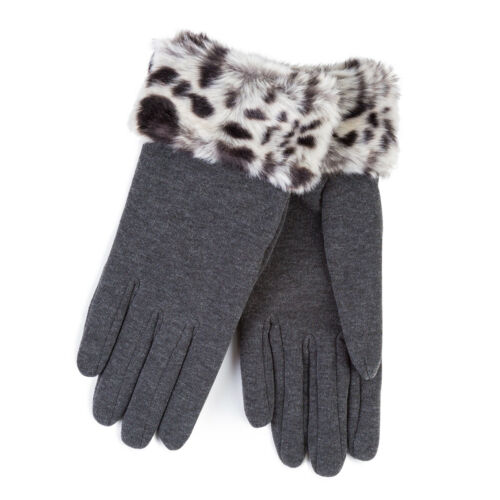 Isotoner Ladies Thermal Glove with Faux Fur Cuff