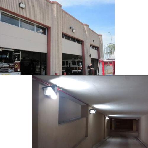 41W LED Wall Pack Fixture 5000K Daylight Outdoor Yard Wall Light 100-277Vac DLC