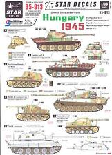 Star Decals 1/35 GERMAN TANKS AND AFVs IN HUNGARY 1945