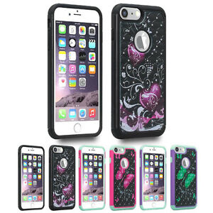 For-Apple-iPhone-8-Plus-7-Plus-Hybrid-Hard-Diamond-Bling-Protective-Case-Cover