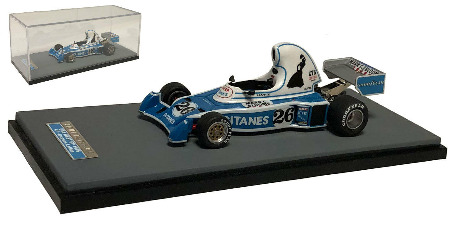 Tameo Ligier JS05  Tetera  Long Beach nos GP 1976-Jacques Laffite 1 43 Escala