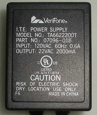 VeriFone ITE Power Supply P//N 07316-01 Model PS571812D.