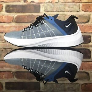 huge selection of 161fd 0545f Image is loading Nike-EXP-X14-Running-Shoes-Midnight-Navy-White-