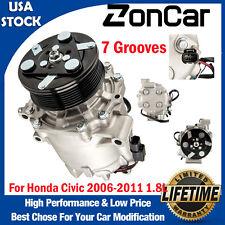 Ac Air Compressor Ac For 2006 2007 2008 2009 2010 2011 Honda Civic 06 11 18l