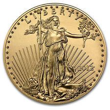 2012 1/2 oz Gold American Eagle Coin - Brilliant Uncirculated - SKU #65081