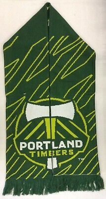 Strong-Willed Mls Portland Timbers Adidas Winter Knit Fringe Scarf Style S413z See Description To Prevent And Cure Diseases Fan Apparel & Souvenirs Hockey-other