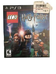LEGO Harry Potter: Years 5-7 (Sony PlayStation 3, 2011)