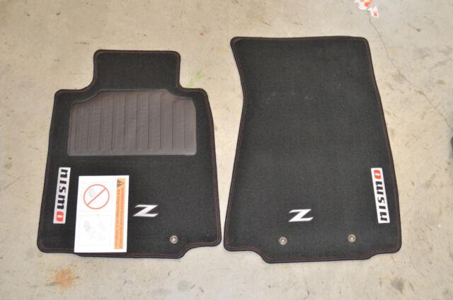 Nissan 370z Coupe Nismo Floor Mats Oem 2009 2018 999e2zv011 For Sale Online Ebay