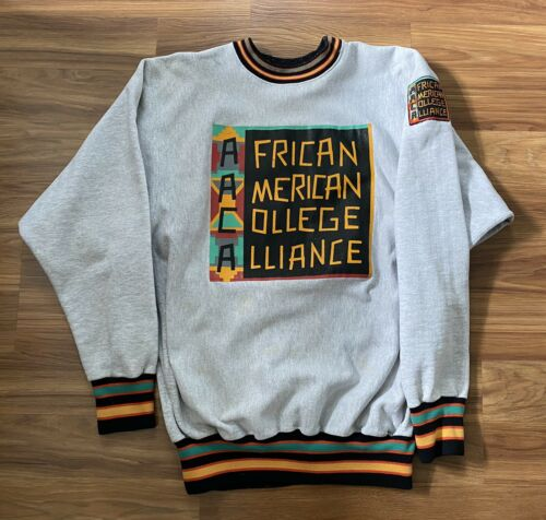 African American College Alliance Vintage Crewnec… - image 1