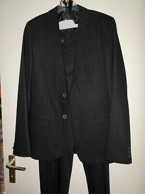 Anzug Für Jungen In Größe 176 In Schwarz,für Besondere Anlässe,gebraucht. Attraktive Designs;