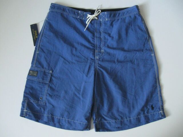 4e8e621459 Polo Ralph Lauren Mens Kailua Swim Trunks Board Shorts Blue Size XXL ...