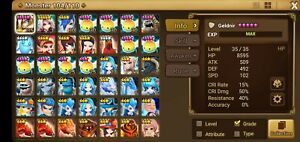 G-159-Global-Summoners-War-Starter-Account-Light-Emperor-rare