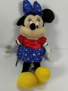 Disney-Minnie-Mouse-Bean-Bag-Plush-Doll-Toy-13-034-Soft-Stuffed-by-Toy-Factory
