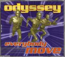 Odyssey - Everybody Move - CDM - 1995 - Eurodance Lisa Cash
