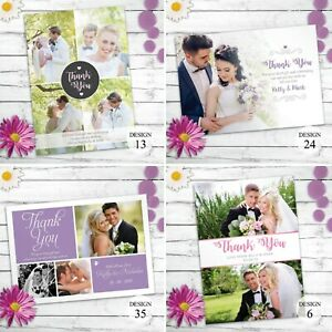 Personalised-Wedding-Thank-You-Cards-with-Photo-And-Envelopes-Folding-Or-Flat
