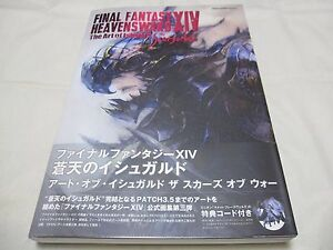 Details about 3-7 Days toUSA FINAL FANTASY XIV HEAVENSWARD The Art of  Ishgard The Scars of War