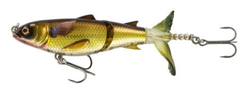 New Chasebaits Drunken Mullet Musky//Bass Surface Lure 130 5.1 Gold DM130-04