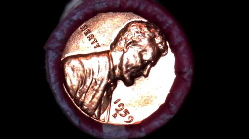 1959 D BU ROLL LINCOLN MEMORIAL CENTS SEALED UNSEARCHED BU COINS PRIVATE SALE