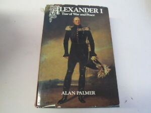 Acceptable  ALEXANDER I  ALAN PALMER 19740101 Exlibrary with usual stamps - Ammanford, United Kingdom - Acceptable  ALEXANDER I  ALAN PALMER 19740101 Exlibrary with usual stamps - Ammanford, United Kingdom