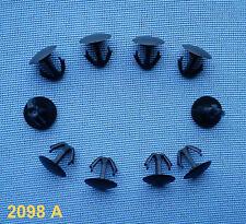 (2098 A) 10x Verkleidung Clips Befestigung Klips Clip Halter Universal für Hond