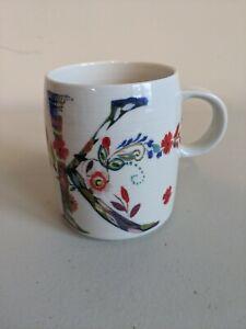 Anthropologie Petal Palette Monogram Letter K Coffee Mug Cup Starla M Halfmann