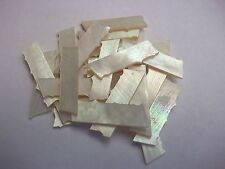 Genuine Mother of Pearl Scrap Material Guitar Inlay, Crafts, Jewelry,Sewing, NEW