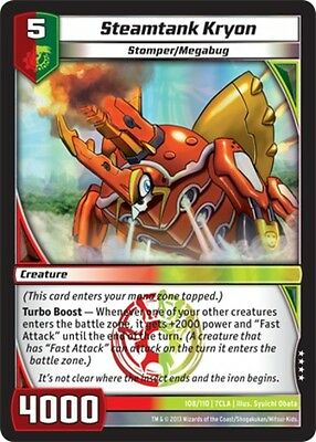 KAIJUDO 1 Freakish Test Subject Clash of the Duel Masters Near Mint