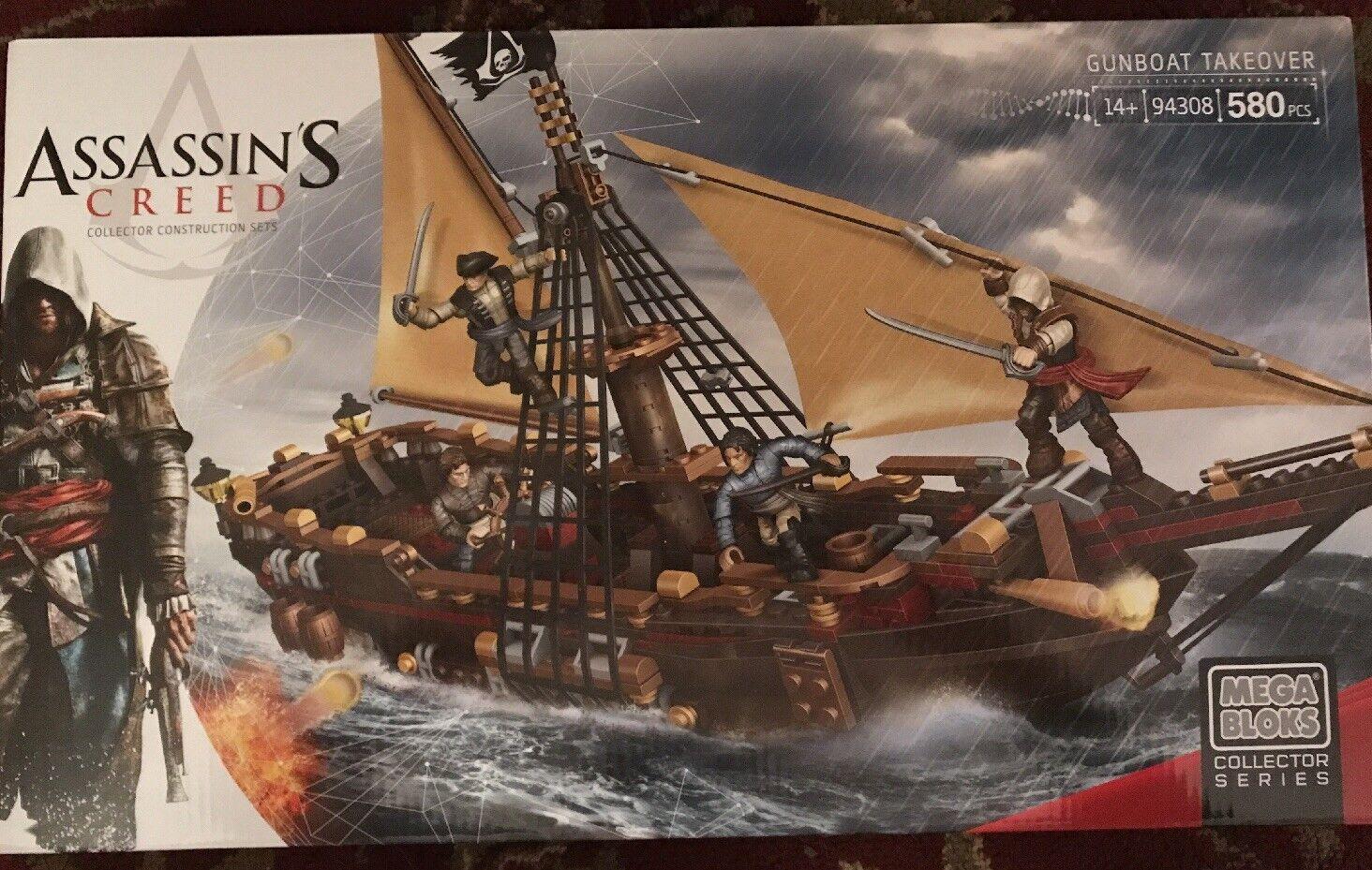 Mega Bloks Assassin's Creed cañonera cañonera cañonera absorción, Conjuntos Paquete de tripulación pirata  a la venta