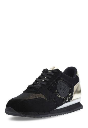 BLAUER USA Damen Sneaker Madison schwarz/golden Größe 36