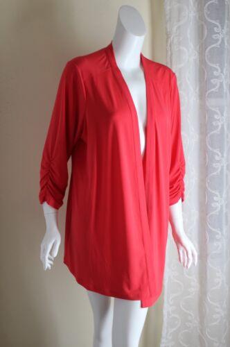 Pink Gorgeous Draping Graver Coral Jacket Knit zz Liquid Susan 1x 7nxqOfFIxS