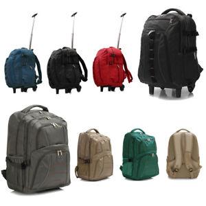 Hommes-Toile-Sac-a-dos-Sac-a-dos-Trolley-Ecole-Voyage-Unisexe-Sac-d-039-Ordinateur-Portable-UK-NEUF