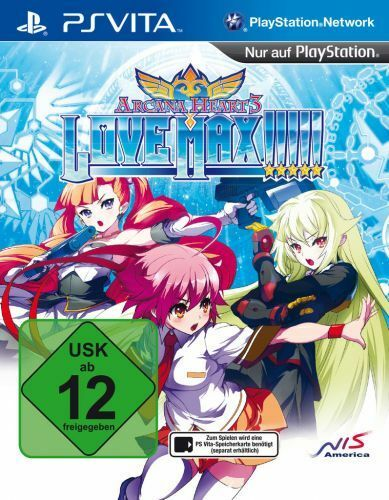 Arcana Heart 3: Love Max (Relaunch) (PS Vita) (Neu)