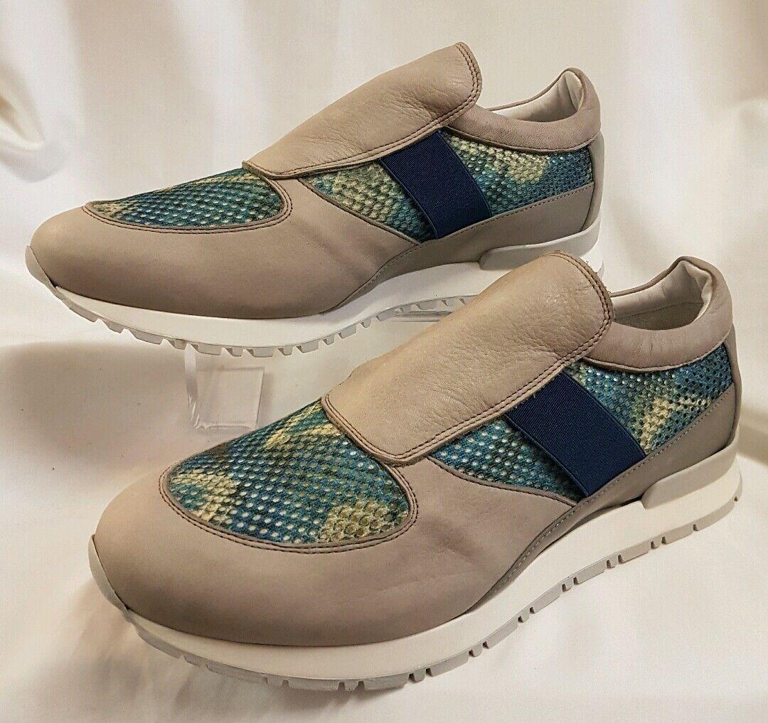Schuhe Herren Turnschuhe Turnschuhe Blau Grau Gr 42 Made in  Neu