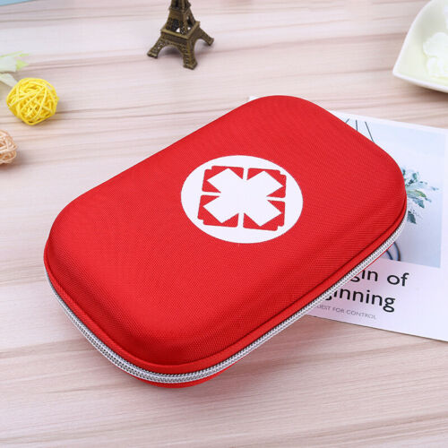 Outdoor Camping Hiking Survival Travel Emergency First Aid Kit Rescue Bag Case