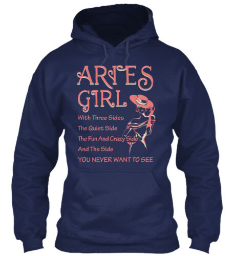 Mug With Three Sides The Gildan Hoodie Sweatshirt Sticker Aries Girl T