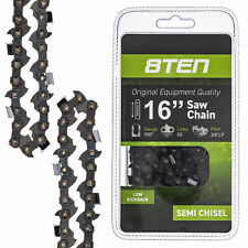 "4X 16/"" Semi Chisel Saw Chain for STIHL MS211 Chainsaws"