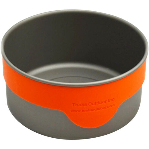 Outdoor Camping TOAKS Heat-Resistant Soft Pliable Silicon Band for Bowl BND-01