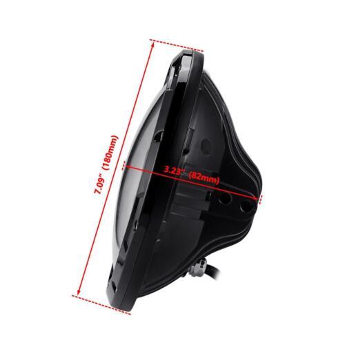 7inch CREE LED Headlight For Yamaha V-Star XVS 650 950 1100 1300 Classic Stryker