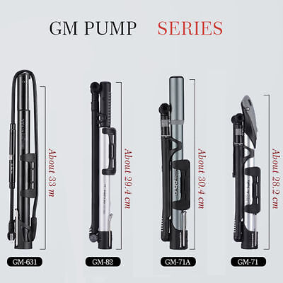 GIYO Micro Floor Pump W//Gauge Schrader//Presta Max 140 psi