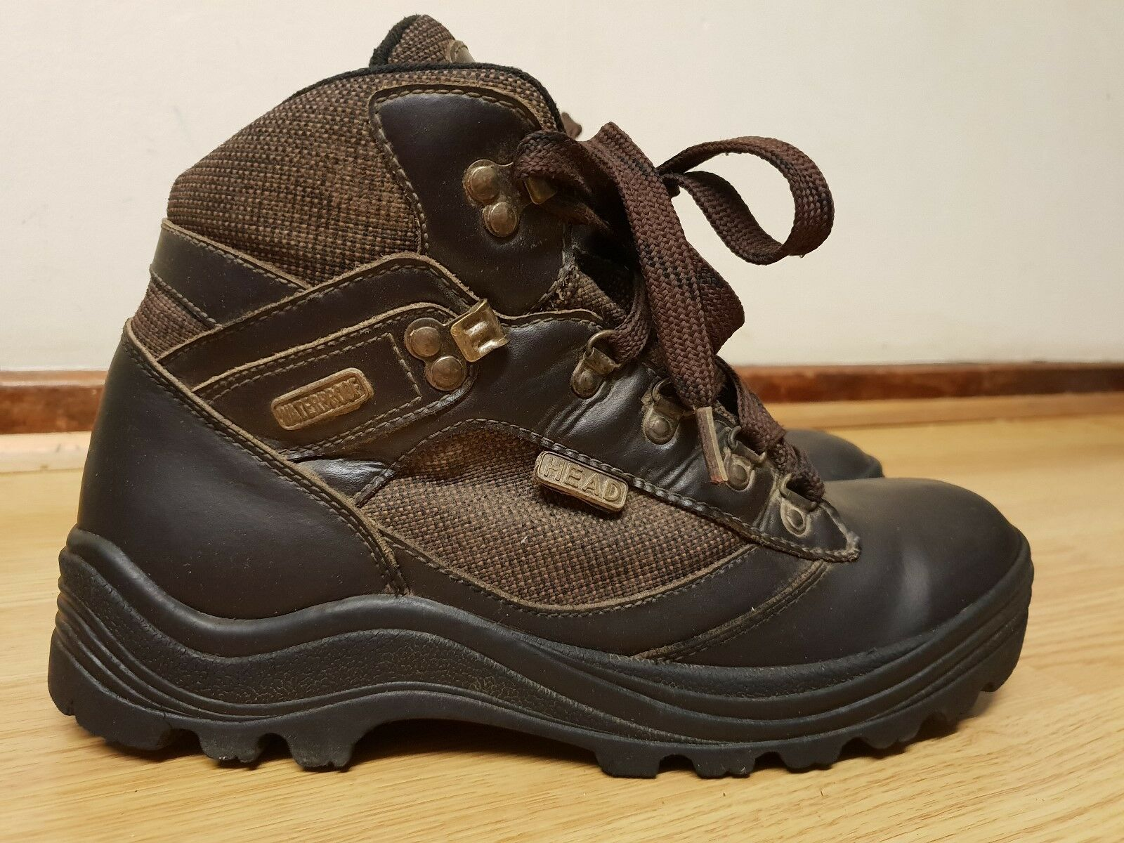 Head Exploration Mens Waterproof Boots Size   Made In Indonesia