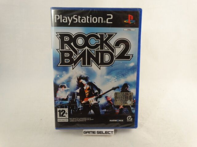 ROCK BAND 2 SONY PS2 PLAYSTATION 2 PAL ITA ITALIANO ORIGINALE NUOVO SIGILLATO
